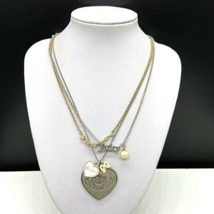 Juicy Couture Let Them Eat Heart Pendant Necklace